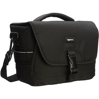 AmazonBasics Medium DSLR Gadget Bag (Gray Interior)
