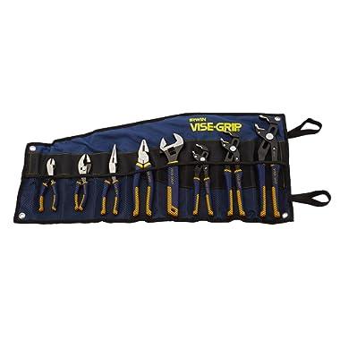 Irwin Tools VISE-GRIP GrooveLock Pliers Set, 8 Piece, 2078712