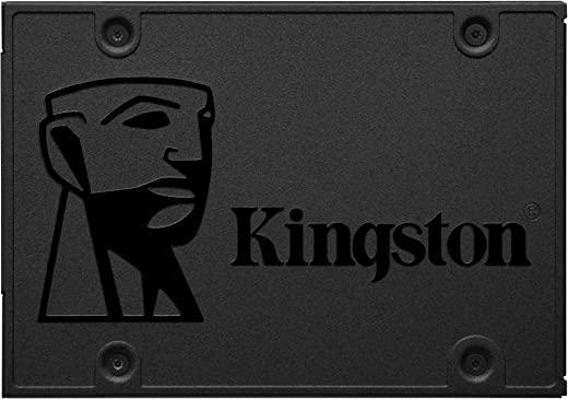 "Kingston 240GB A400 SATA 3 2.5"" Internal SSD SA400S37/240G - HDD Replacement for Increase Performance"