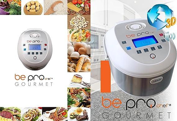 Robot de Cocina Programable Be Pro Chef Gourmet 3D con Voz en Español y Portugués: Amazon.es: Hogar