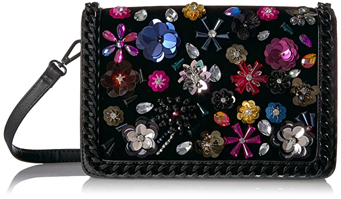 35a16c32394 Aldo Momo Top Handle Cross Body, Black Velvet: Handbags: Amazon.com