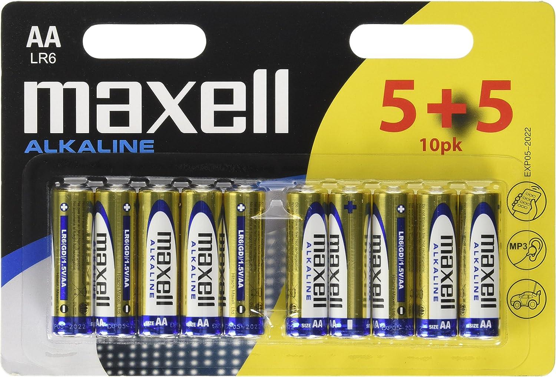 Maxell Lr6 Aa Mignon Alkaline Batterien Elektronik