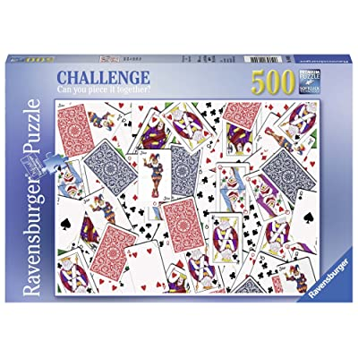 Ravensburger 14800 52 Shuffle Challenge Series Jigsaw Puzzle (500 Piece): Toys & Games