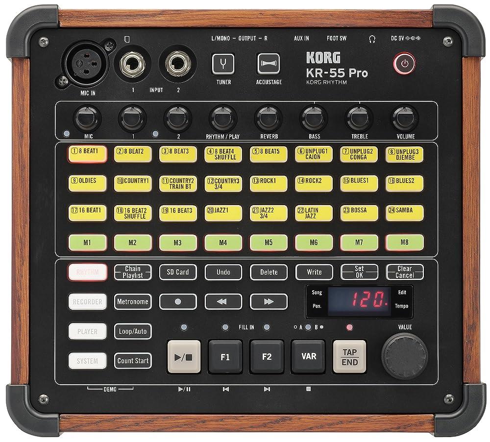 KR-55 Pro:コントロールパネル