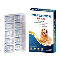 Medfly Defender Plus Dewormer for Dogs - Pack of 10 Flavored Tablets