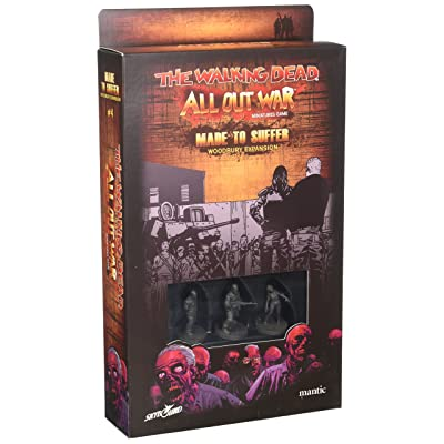 WALKING DEAD - MADE TO SUFFER - WOODBURY EXPANSION - Wave IV: Toys & Games