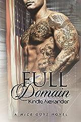 Full Domain (A Nice Guys Novel Book 3) Kindle Edition