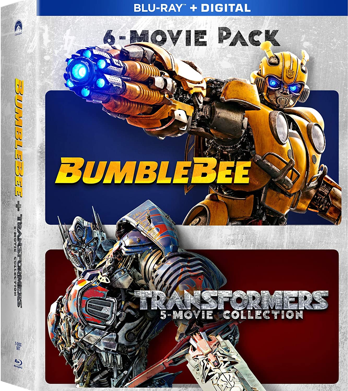 Amazon.com: Bumblebee & Transformers Ultimate 6-Movie Collection ...
