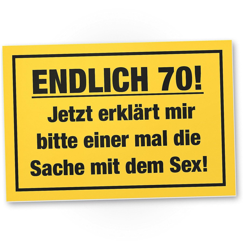 DankeDir! 70 años - Cosa con Sex, plástico Escudo - Regalo ...