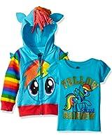 My Little Pony Girls' Rainbow Dash Hoodie