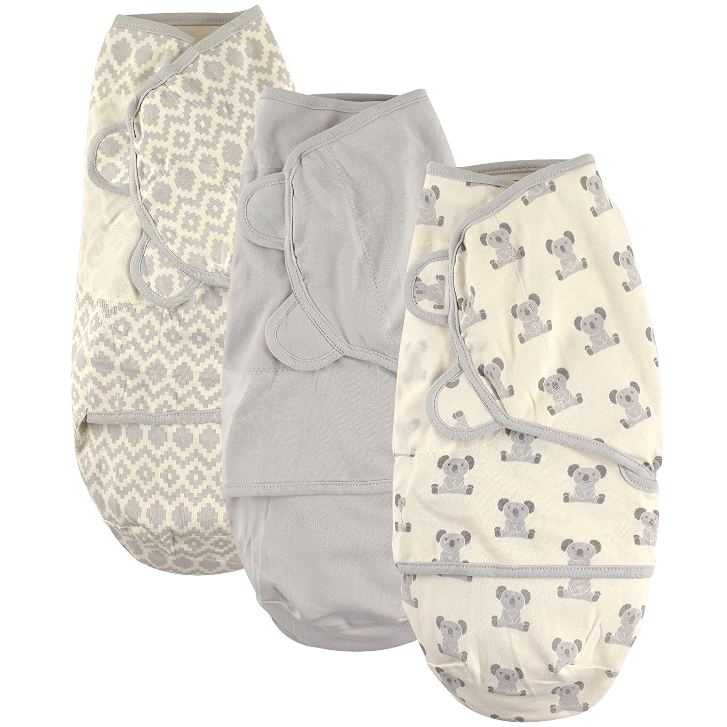 Hudson Baby Swaddle Wrap 0-3 Months 51034/_Whales/_0-3M Blue Whales