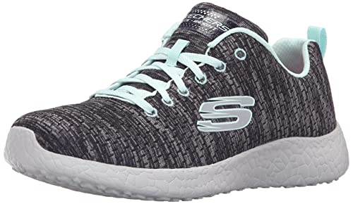 Skechers Sport Women's Burst Fashion Sneaker Blue 6 B(M) US