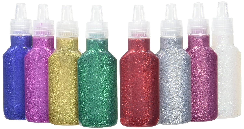 Artemio 20 ml Glitter Glue, Set of 8, Multi-Colour 10005006