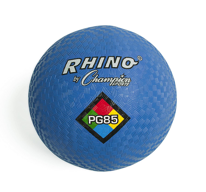 Sports Champion CHSPG85BL Playground ball 8 .50 In Blue Champion Sports