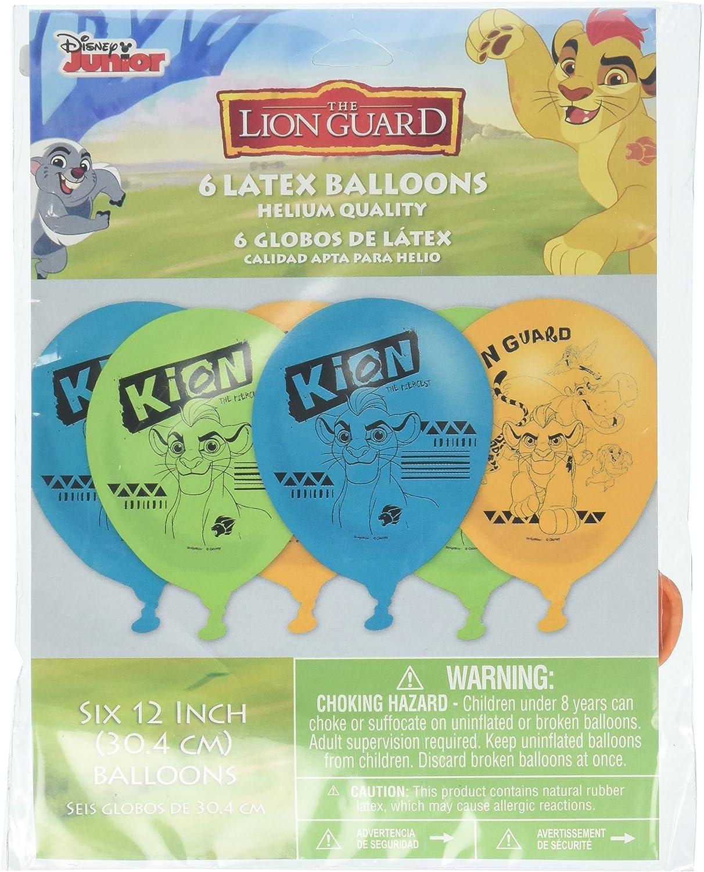 Amazon.com: Globos de látex (la Guardia Lion (6ct): Toys & Games