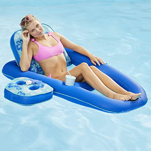 Recliner & Tanner Inflatable Pool Float [Aqua Leisure] Picture