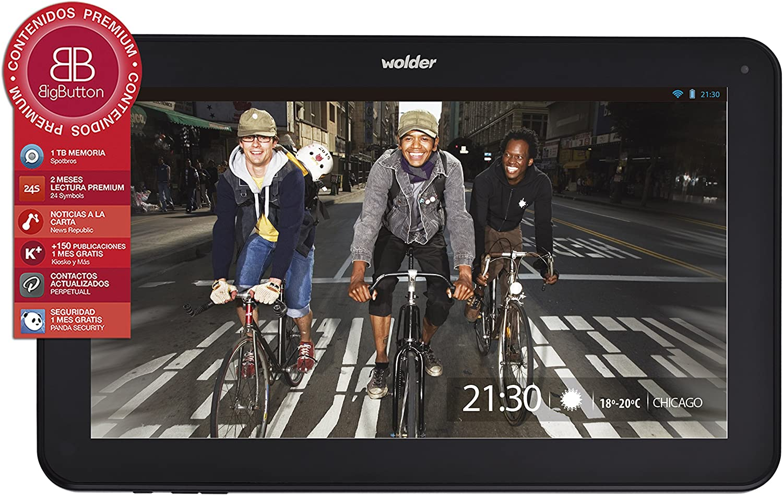 Wolder miTab Chicago - Tablet de 9