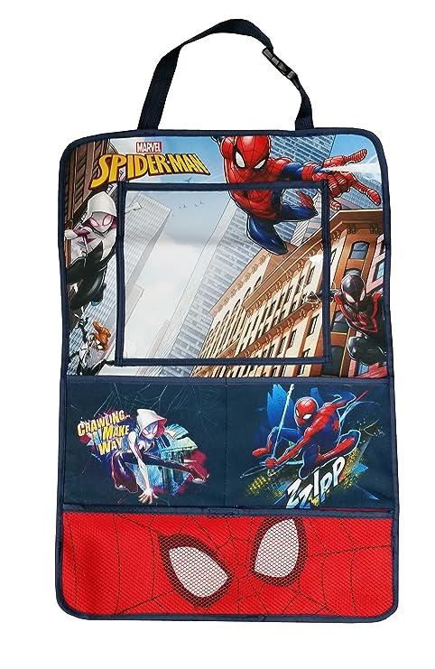 Marvel Carsm-Lorg-SPIDERMAN Spider-Man organizador de coche y funda de almacenamiento de viaje