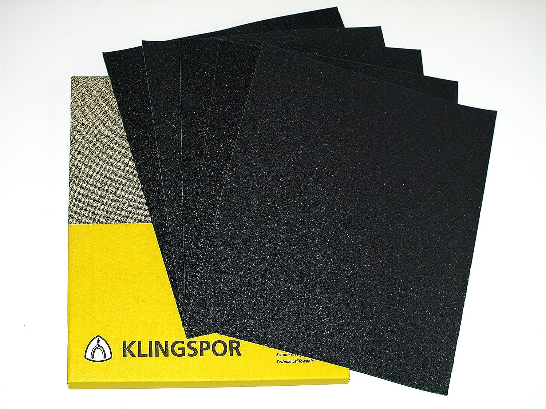 10 Waterproof Sheets Of Wet /& Dry Sandpaper Paper 600 Grit Grade
