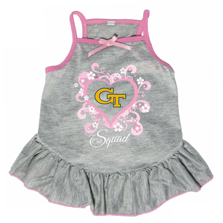 Hunter 4238-41-5500 NCAA Georgia Tech Too Cute Pet Dress, Large