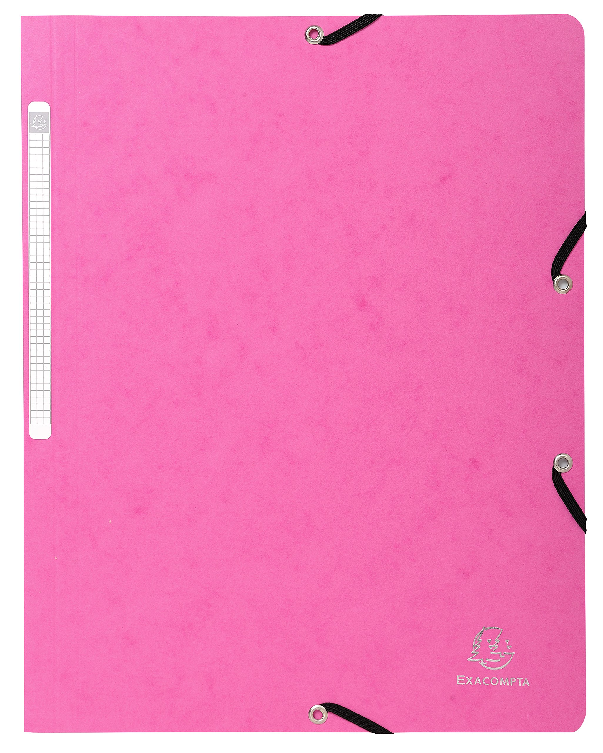 Exacompta Folder 5560E, Manila Cardboard DIN A4, Fuchsia