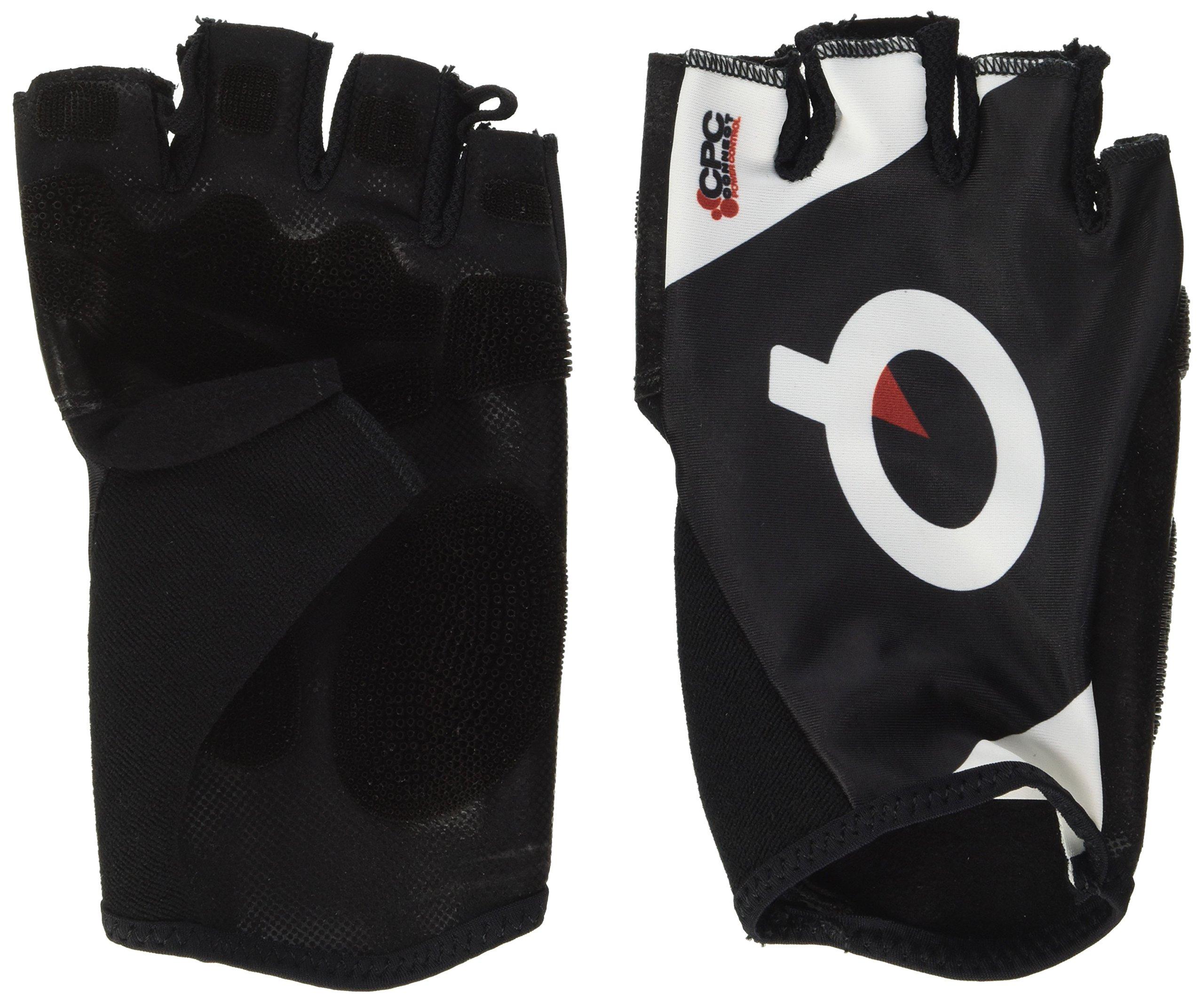 Prologo CPC Glove Short Finger: Black Euro SM