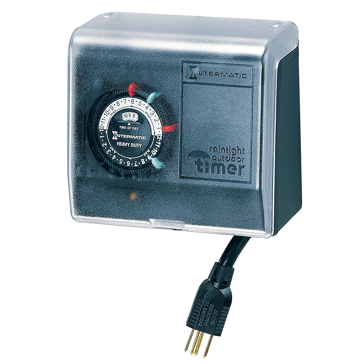 Intermatic P1101 15 Amps Outdoor Pool Timer Wall T104p3 Wiring Diagram Switches Garden