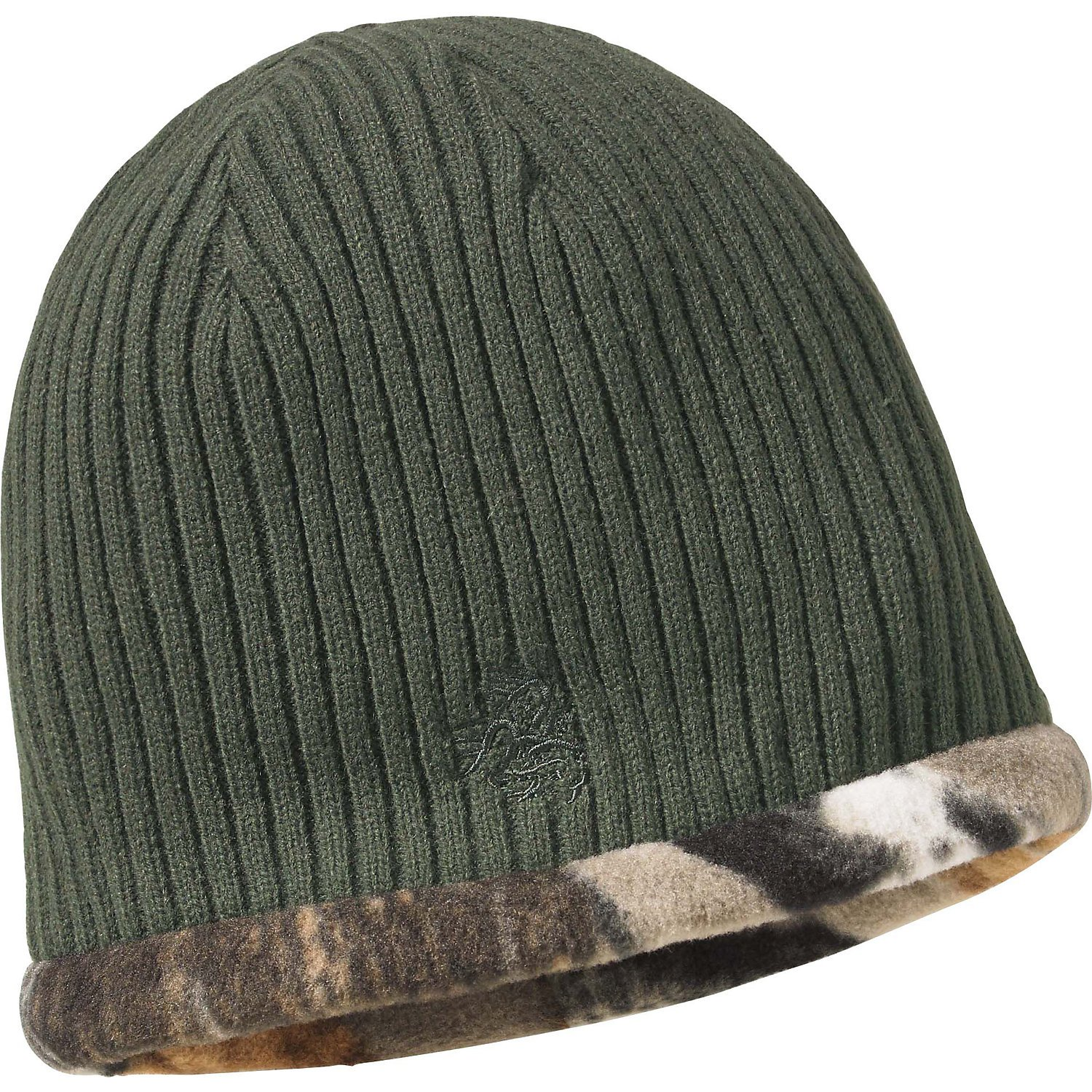 bb133386523 The Legendary Whitetails Men s Trophy Buck Reversible Knit Camo Hat is a  convenient reversible head covering that offers two distinct patterns for  the price ...