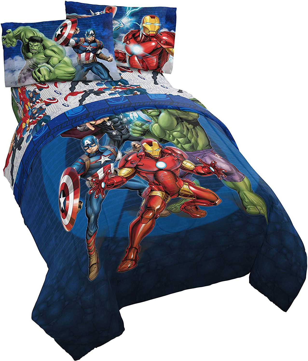 Jay Franco Marvel Avengers Bed Set