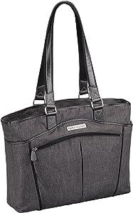"Clark & Mayfield Reed Laptop Handbag 17.3"" (Black)"