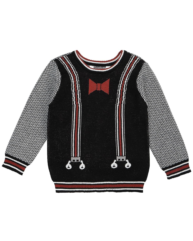 Petit Lem Boys' Lil Mister Knit Sweater 17FK58P641