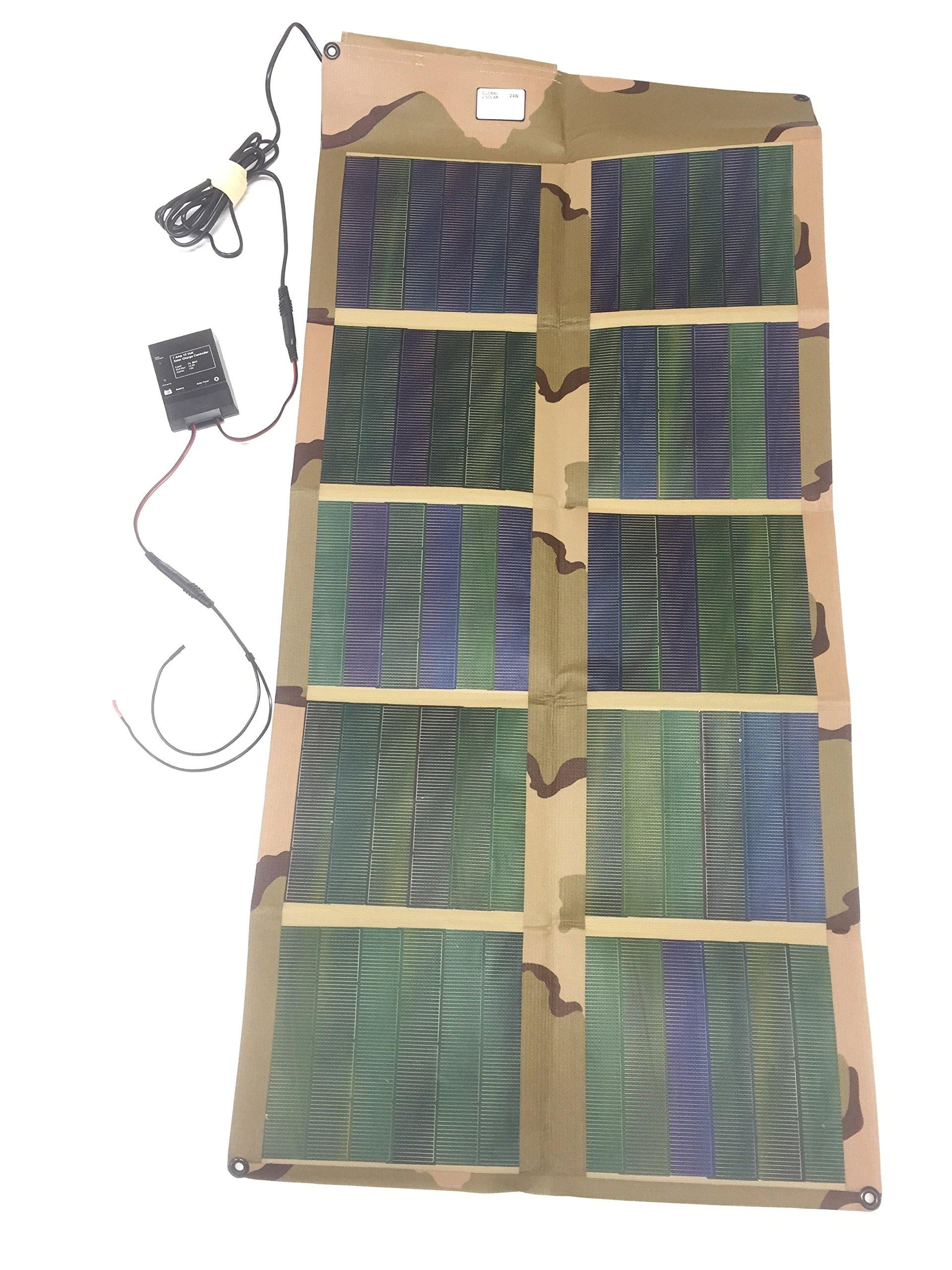 P3 International 22024S Solar Battery Charger, 24 Watt, 12V by P3 International