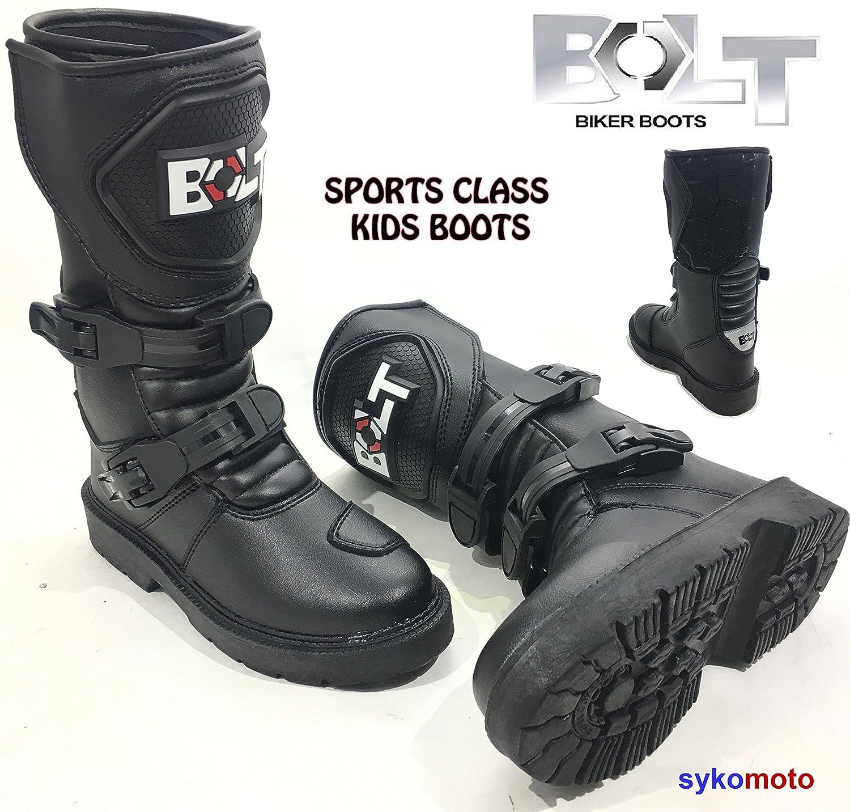 Bottes de moto Xk15 enfants MX Bottes de moto é tanche Quad ATV garç ons et filles course de juniors bottes de sports., XXS MOTOHART Bolt XK15 Kids Boot