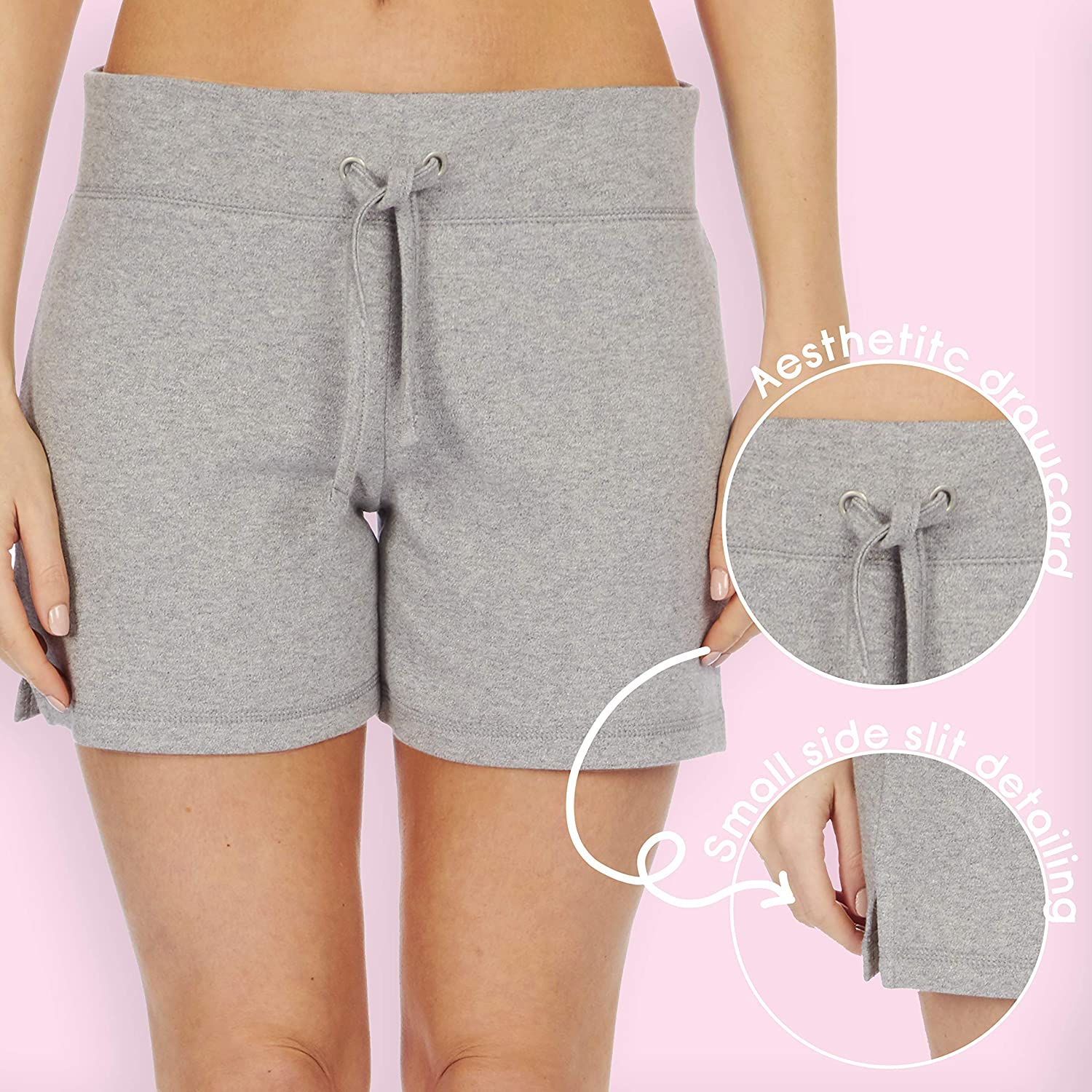 87968da6d90b Label your Love Womens Colourful Jesey Cotton Hot Pant Summer Shorts:  Amazon.co.uk: Clothing