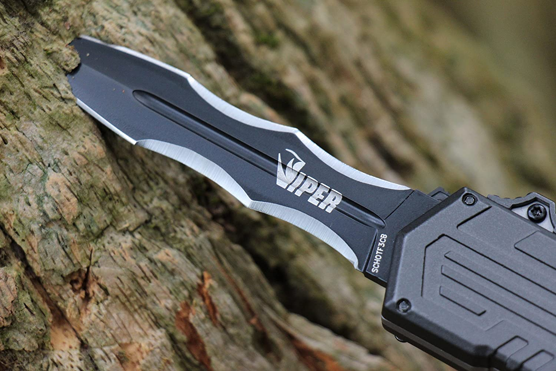 Schrade Viper 3OTF Knife(Recurve)