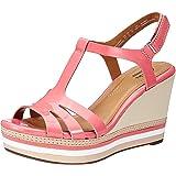 Clarks Women's Leather Fashion Sandals (Standard Fit)