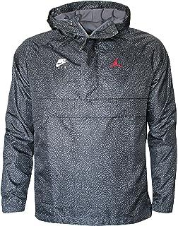 Nike Mens JSW AJ5 Satin JKT AR3130-010 at Amazon Mens ...