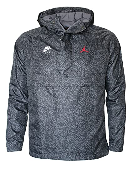 Pullover Jacket Nike Air Windbreaker Men's Jordan Hooded Iyvgbf76Ym