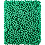 Shappy 2000 Pieces 6 mm Pom Poms for Craft Making, Hobby Supplies and DIY Creative Crafts Decorations (Green)