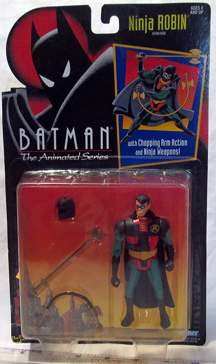 Amazon Com Batman The Animated Series Ninja Robin Action Figure Toys Games