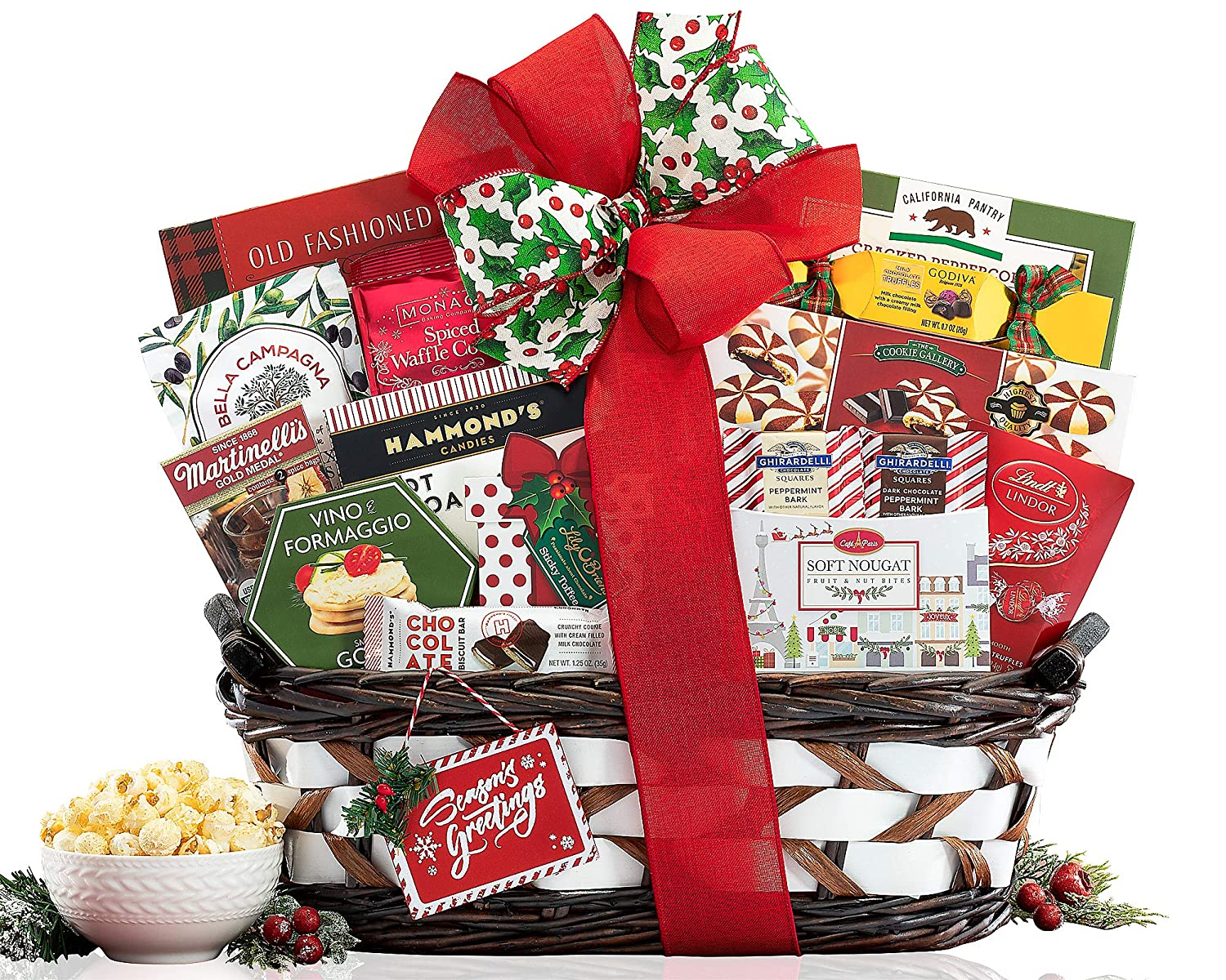 The Season's Greetings Gourmet Gift Basket by Wine Country Gift Baskets