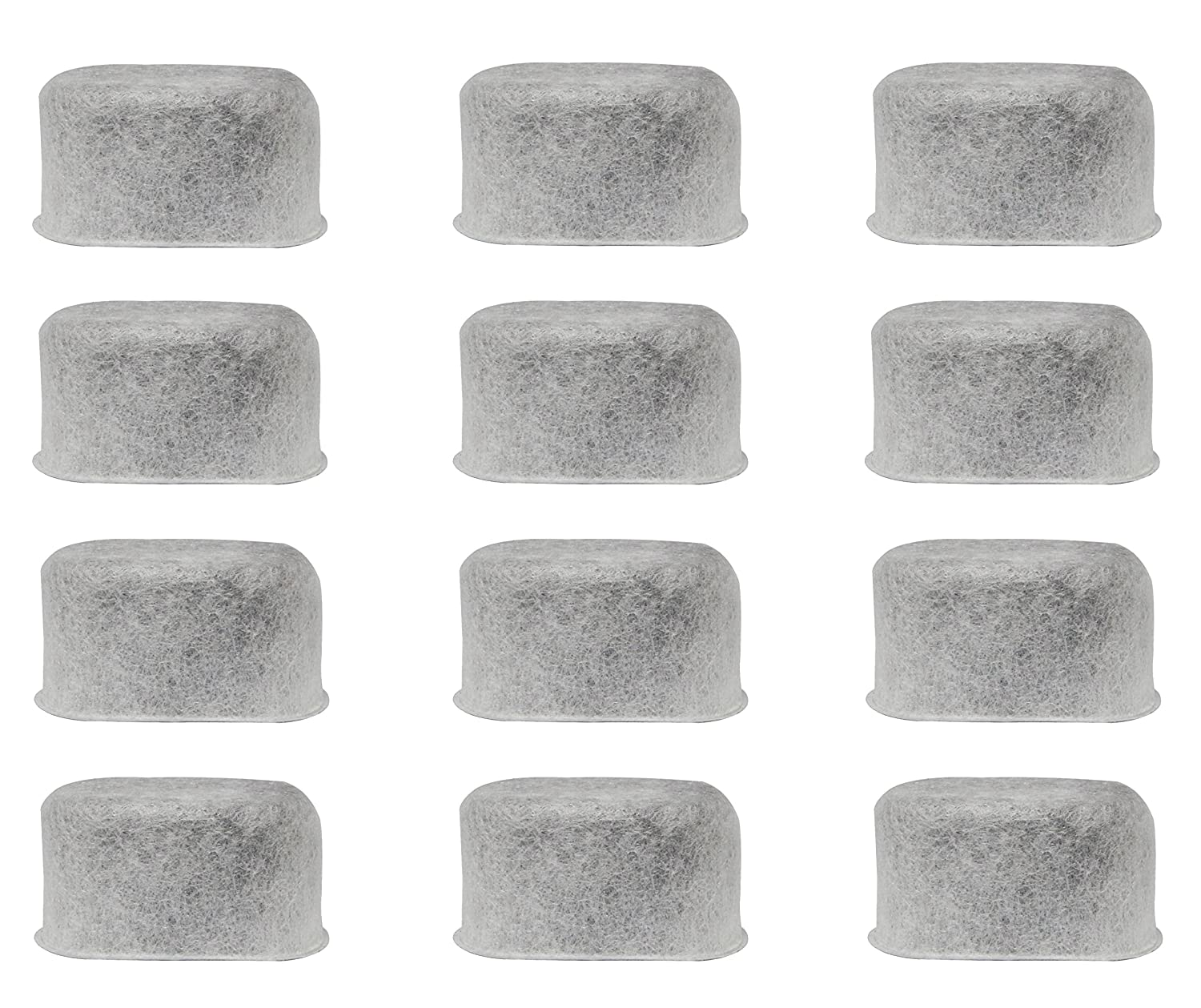 BVANQ Charcoal Coffee Filter Replacement for KitchenAid Coffee Maker KCM111 & KCM112, Replace KitchenAid KCM11WF (Set of 12)