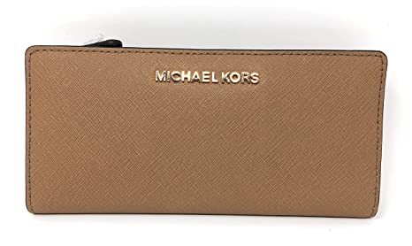 Michael Kors Jet Set Travel Large Card Case Carryall Leather