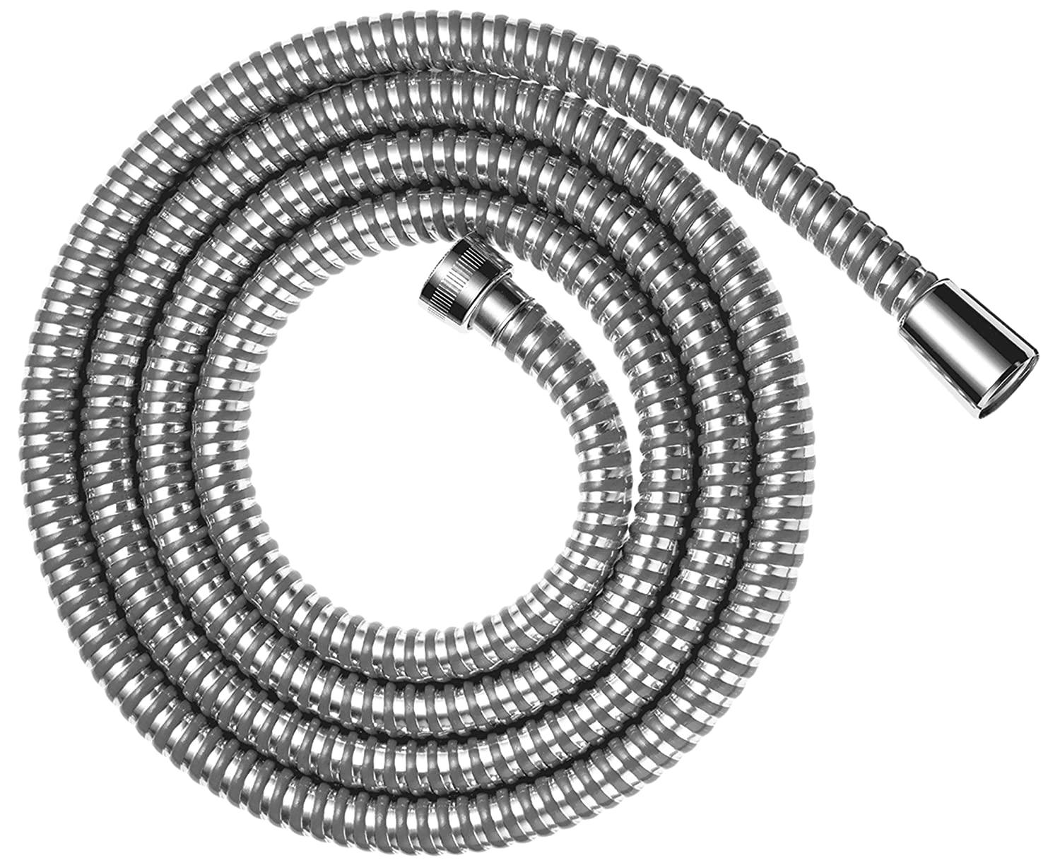 Hansgrohe Metaflex Flexible Anti-Kink Shower Hose, Silver, 28263002