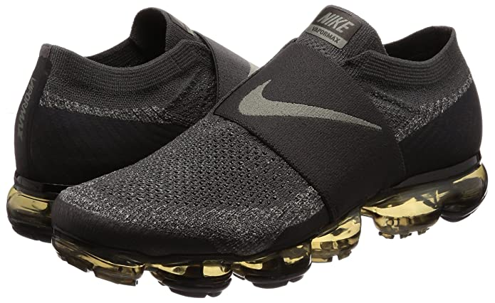 4bb33cefcbccc Nike Men s Air Vapormax Flyknit Moc Midnight Fog Dark Stucco Legion  Green Black Nylon Running Shoes 9.5 M US  Buy Online at Low Prices in India  - Amazon.in