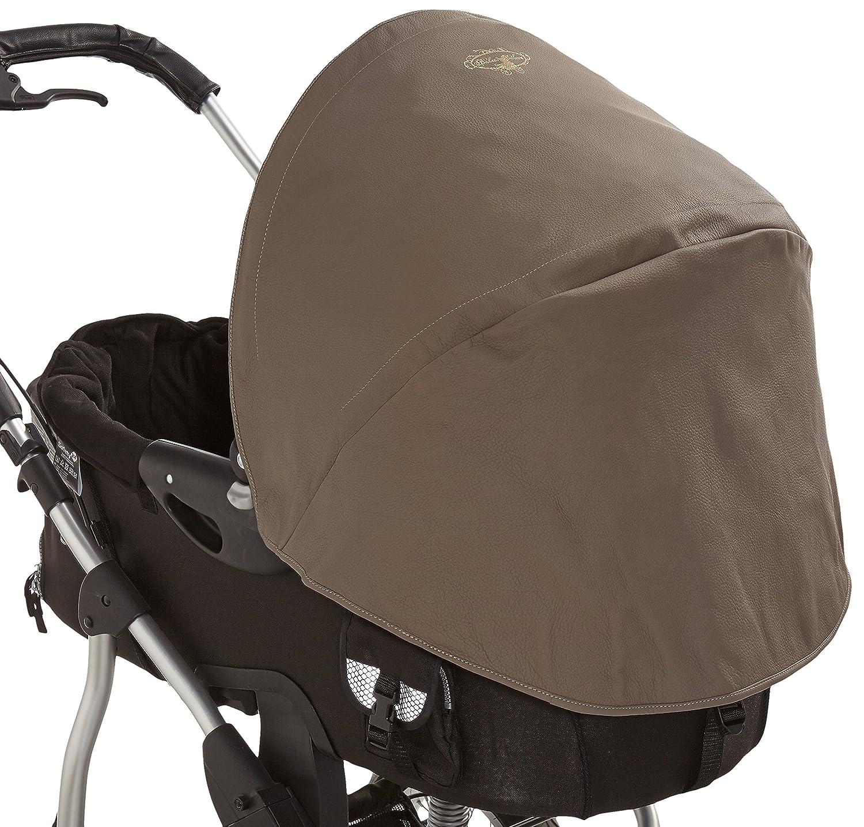 Los bebés de lujo, cuero parasol para los cochecitos Bugaboo ...