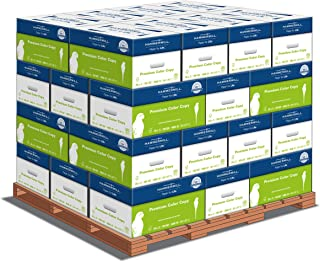 product image for Hammermill Printer Paper, Premium Color 28 lb Copy Paper, 8.5 x 11 - 1 Pallet, 32 Cases (160,000 Sheets) - 100 Bright, Made in the USA