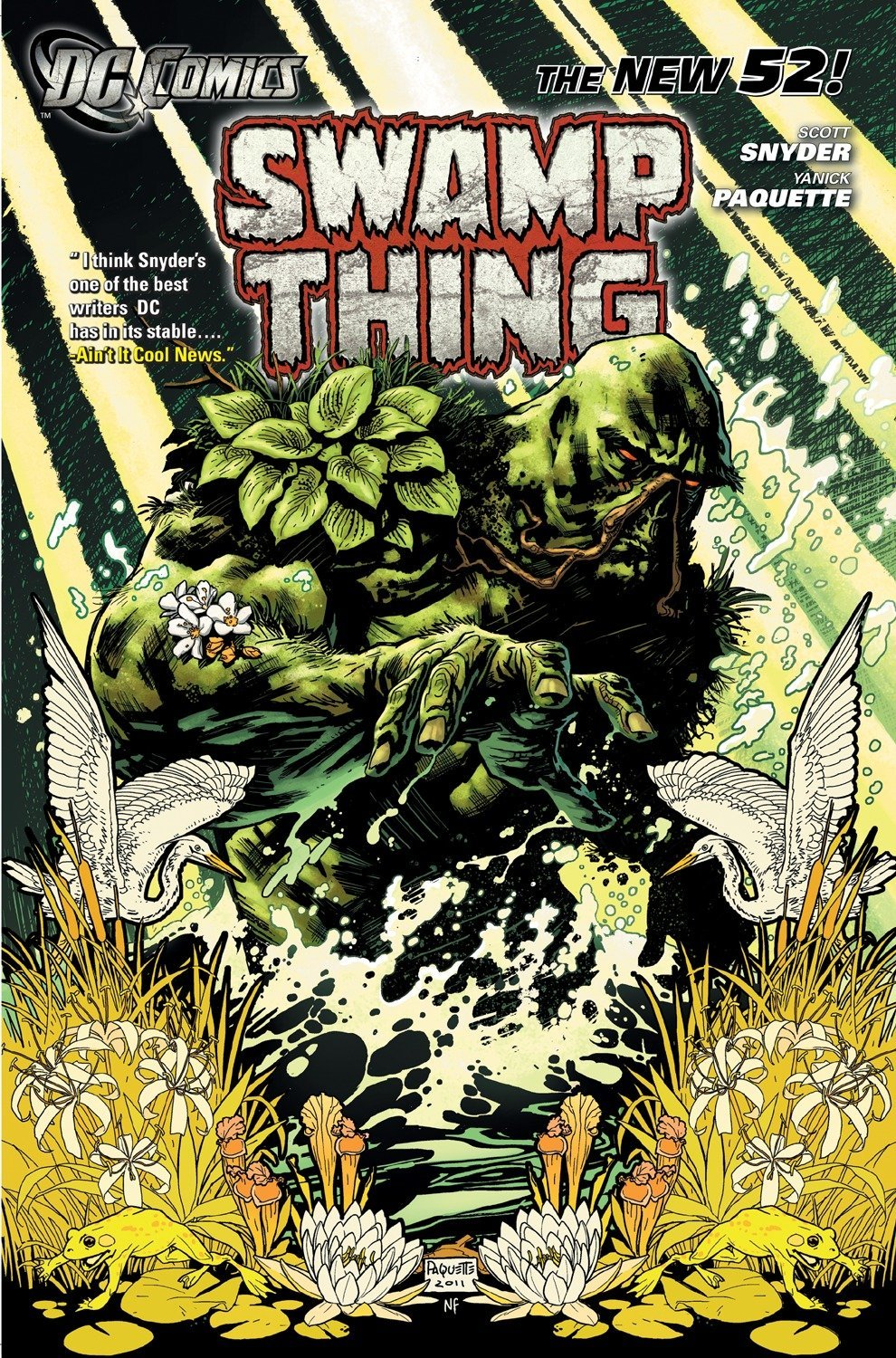 Swamp Thing Vol. 1: Raise Them Bones (The New 52) (Swamp Thing (DC Comics)) by DC Comics