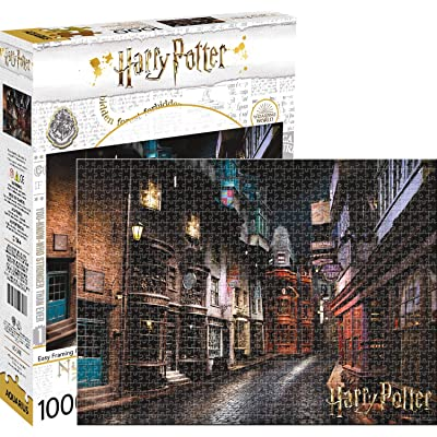 Harry Potter Diagon Alley 1,000pc Puzzle: Toys & Games