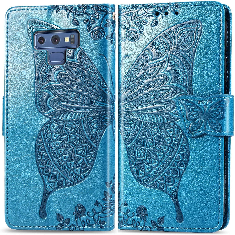 Brieftasche Handyh/ülle Klapph/ülle mit Kartenhalter Stossfest Lederh/ülle f/ür Samsung Galaxy Note9 TOSDA030331 Violett Tosim Galaxy Note 9 H/ülle Klappbar Leder